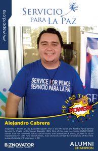 ALUMNI Alejandro Cabrera