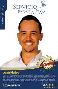 ALUMNI Joan Mateo I I