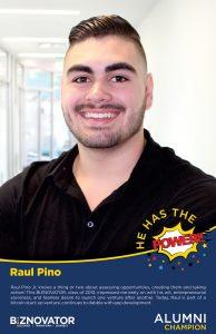 ALUMNI Raul Pino